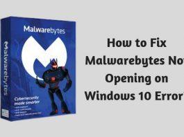 How to Fix Malwarebytes Not Opening on Windows 10 Error