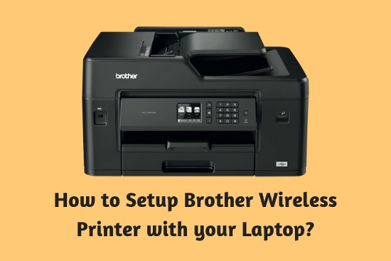How to Setup Brother<sup>®</sup> Wireless Printer with your Laptop