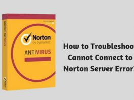 How to Troubleshoot Cannot Connect to Norton Server Error?