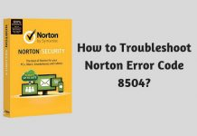 How to Troubleshoot Norton Error Code 8504