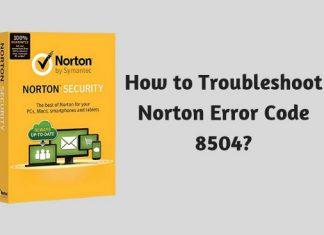 How to Troubleshoot Norton Error Code 8504