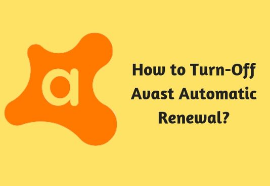 How to Turn-Off Avast Automatic Renewal
