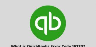 What is QuickBooks Error Code 15270 - How to Resolve this Error