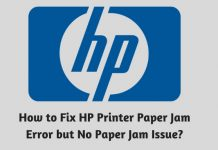 How to Fix HP Printer Paper Jam Error but No Paper Jam Issue