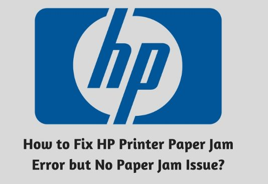 How to Fix HP Printer Paper Jam Error but No Paper Jam Issue